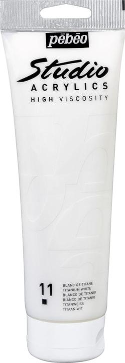 Pébéo Acrylic High Viscosity Pebeo 663509496911 Colore Bianco Di Titanio N. figura 1