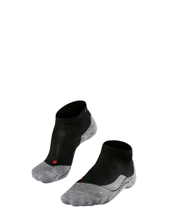 RU4 Short Damen-Runningsocken Falke 497179137020 Farbe schwarz Grösse 37-38 Bild-Nr. 1