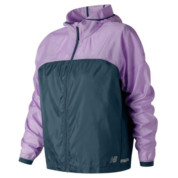 Light Packjacket Veste pour femme New Balance 470183200291 Couleur lilas Taille XS Photo no. 1