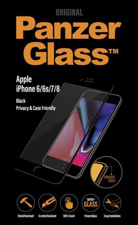 Privacy iPhone 6/6s/7/8 - noir Panzerglass 785300134572 Photo no. 1