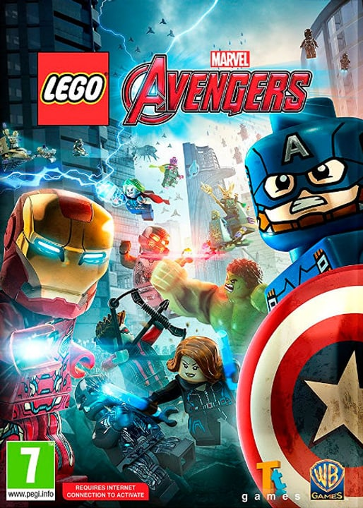 PC - Lego Marvel's Avengers Digitale (ESD) 785300133328 N. figura 1