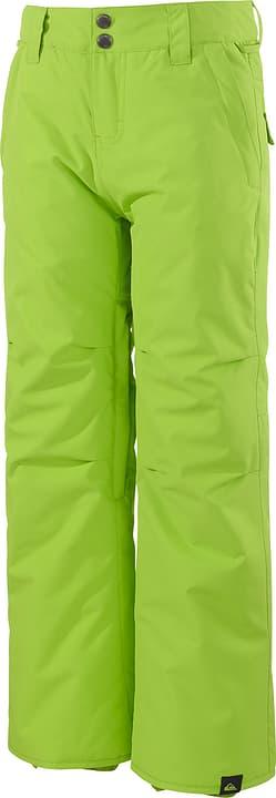 Estate - Snowhose Pantalon de snowboard pour garçon Quiksilver 464582212866 Couleur lime Taille 128 Photo no. 1