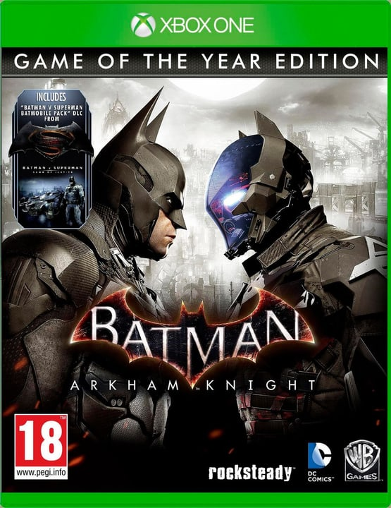 Xbox One - Batman: Arkham Knight GOTY Physique (Box) 785300121248 Photo no. 1