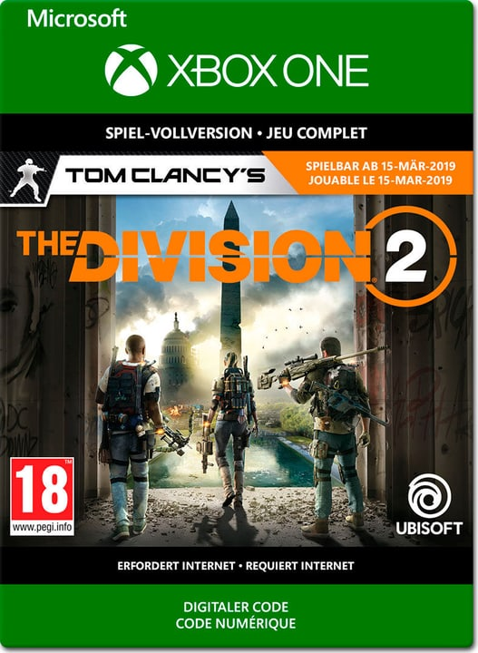 Xbox One - Tom Clancy's The Division 2 PrePurchase Download (ESD) 785300142573 N. figura 1