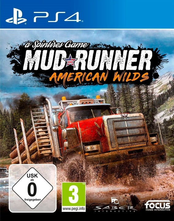 PS4 - Spintires: MudRunner American Wilds Edition (D) Box 785300139035 Photo no. 1