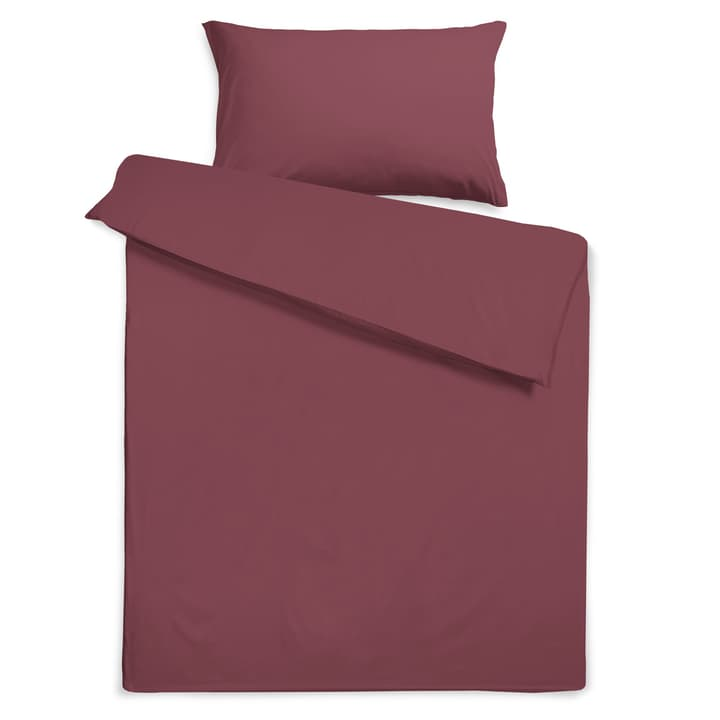 KOS Housse de couette satin 376079512397 Dimensions L: 210.0 cm x L: 160.0 cm Couleur Nocturne Photo no. 1