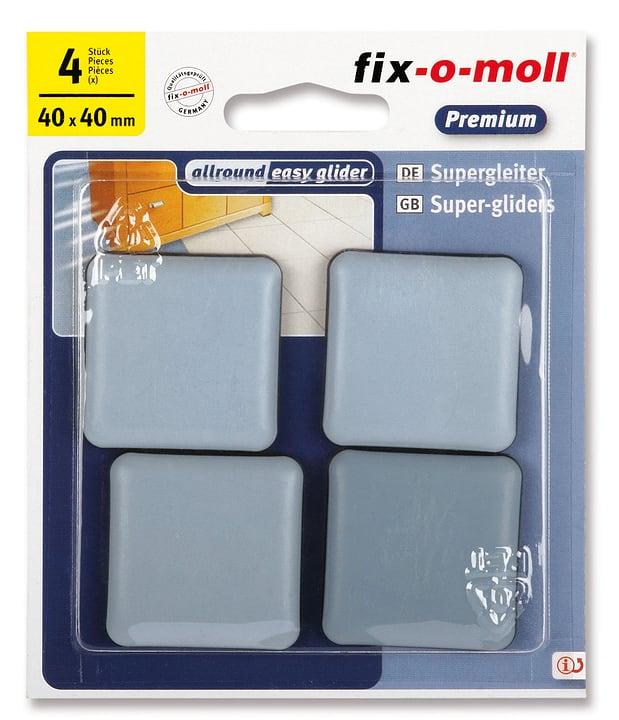 Piedini universale 5 mm / 40 x 40 mm 4 x Fix-O-Moll 607078200000 N. figura 1