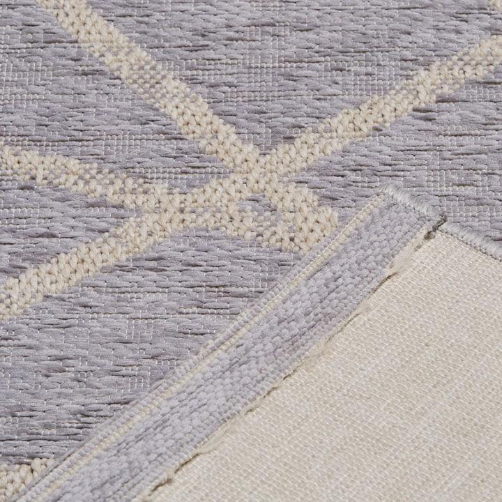 BEATRITZ Teppich 412017607080 Farbe grau Grösse B: 77.0 cm x T: 150.0 cm Bild Nr. 1