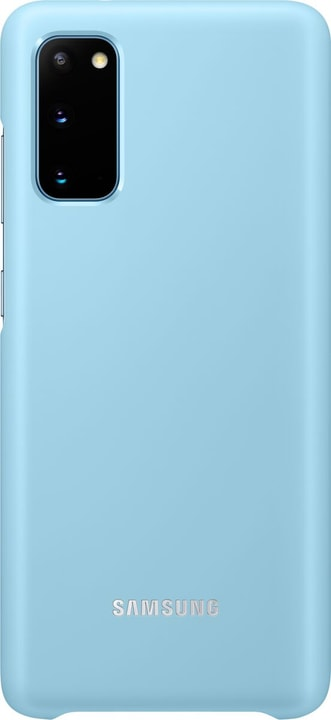 Hard Cover avec Affichage LED Sky Blue Coque Samsung 785300151189 Photo no. 1