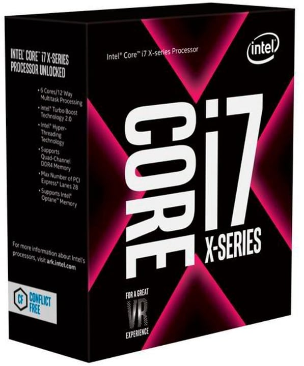 Core i7-7800X 3.5 GHz Processeur Intel 785300145559 Photo no. 1