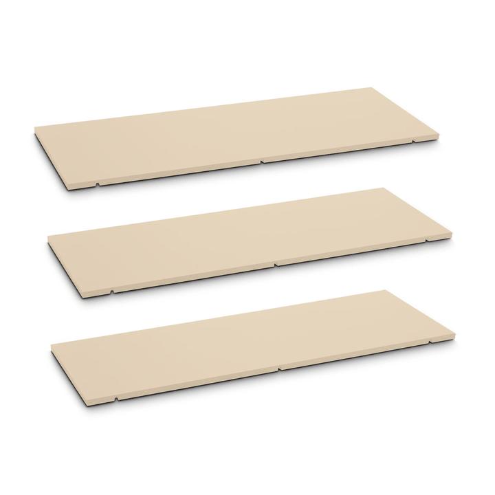 SEVEN Ripiano set da 3 90cm Edition Interio 362019951103 Dimensioni L: 90.0 cm x P: 1.4 cm x A: 35.5 cm Colore Marrone N. figura 1