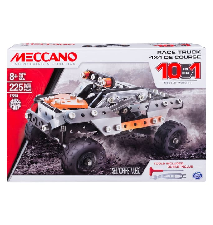 Meccano Construction Digger 2 in 1 746214800000 Bild Nr. 1