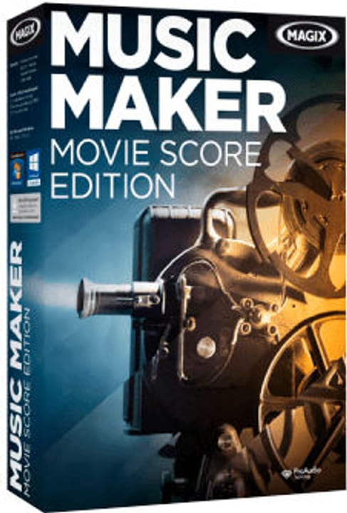 Music Maker Movie Score Edition 6 PC (D/F/I/E) Digital (ESD) Magix 785300133259 Bild Nr. 1