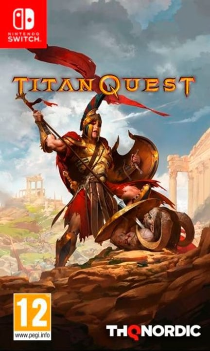 Switch - Titan Quest (F) Fisico (Box) 785300134883 N. figura 1