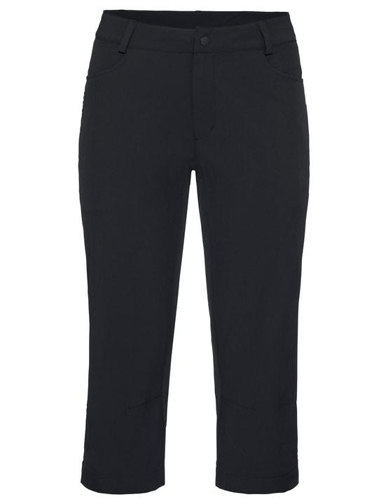 Women's 3/4 Yaki Pants II Pantalon 3/4 de cyclisme pour femme Vaude 461352103620 Couleur noir Taille 36 Photo no. 1