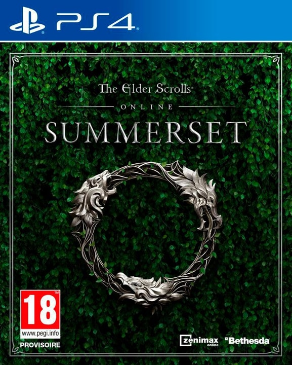 PS4 - The Elder Scrolls Online - Summerset (F) Physique (Box) 785300135458 Photo no. 1
