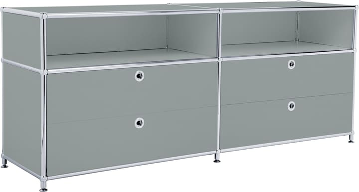 FLEXCUBE Buffet bas 401813920180 Dimensions L: 152.0 cm x P: 40.0 cm x H: 62.5 cm Couleur Gris Photo no. 1