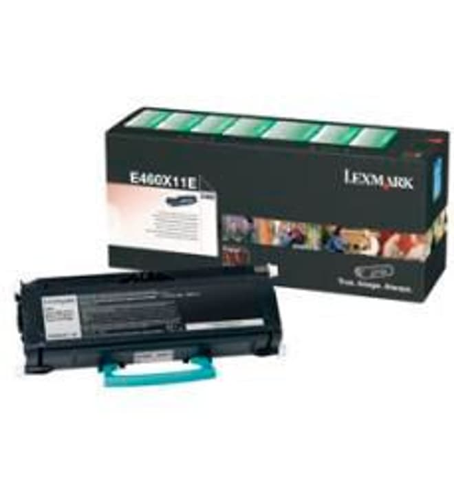 cartouche de toner return E460X11E, noir Lexmark 785300124465 Photo no. 1