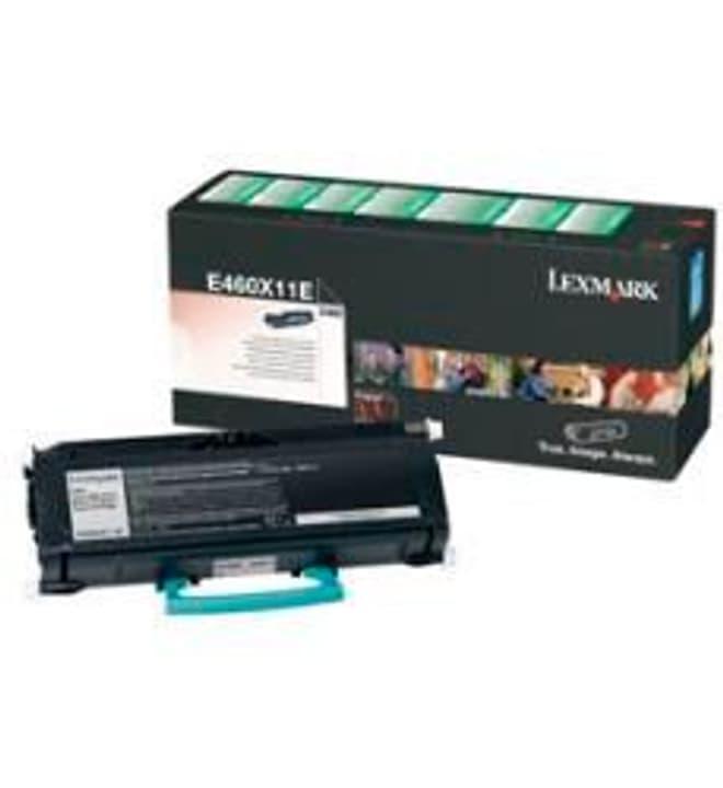 return E460X11E, noir Toner-Modul Lexmark 785300124465 Photo no. 1