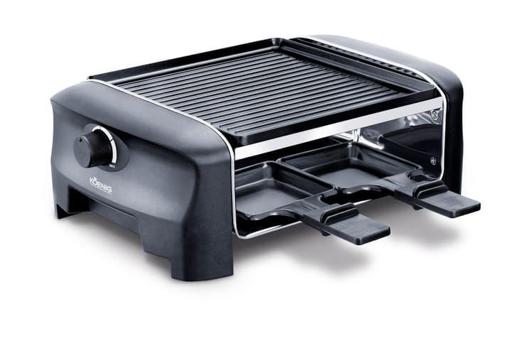Gourmet 4 nero Fornello da raclette/grill Koenig 785300124534 N. figura 1
