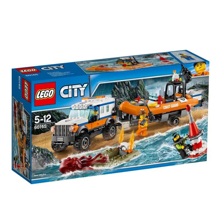 Lego City Geländewagen mit Rettungsboot 60165 748852500000 Bild Nr. 1
