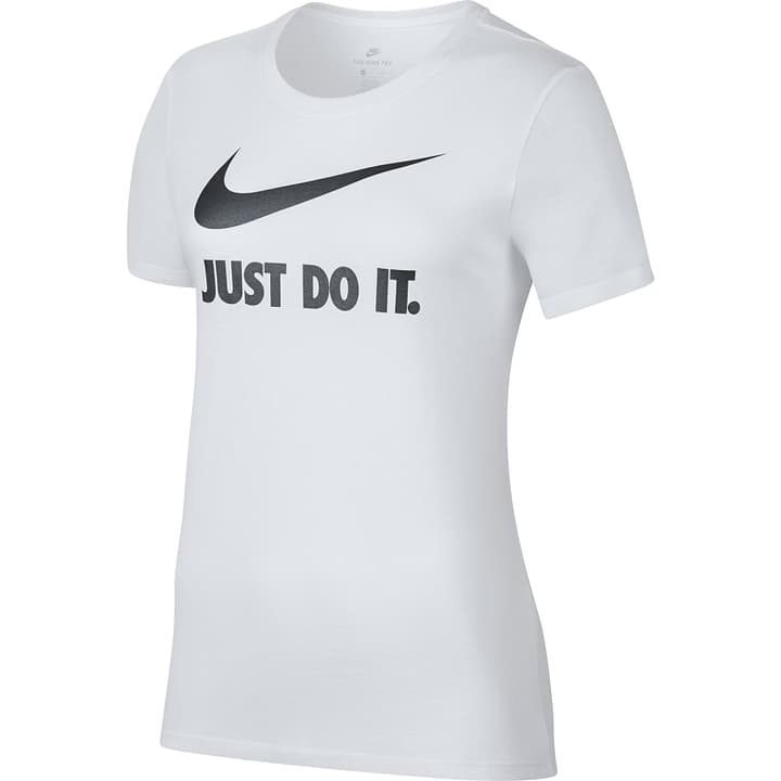 "Sportswear ""Just Do It"" T-Shirt T-shirt pour femme Nike 462379300410 Couleur blanc Taille M Photo no. 1"