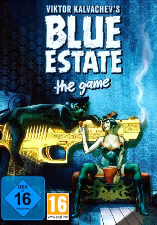 PC - Blue Estate - The Game Physique (Box) 785300122108 Photo no. 1