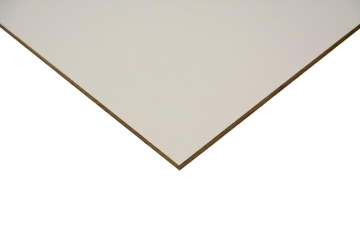 Pannello MDF Lack Line bianco laccato su un lato 640503100000 Longueur L: 1200.0 mm N. figura 1