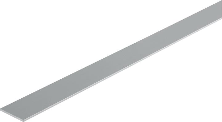 Barre plate 2 x 25 mm argent 2 m alfer 605108500000 Photo no. 1