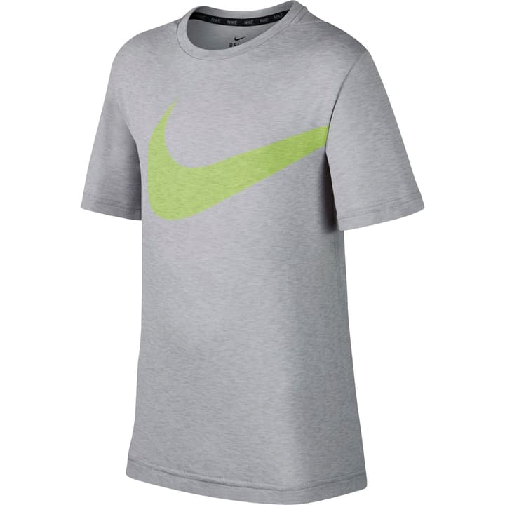 Breathe Training Top T-shirt pour garçon Nike 464537312881 Couleur gris claire Taille 128 Photo no. 1