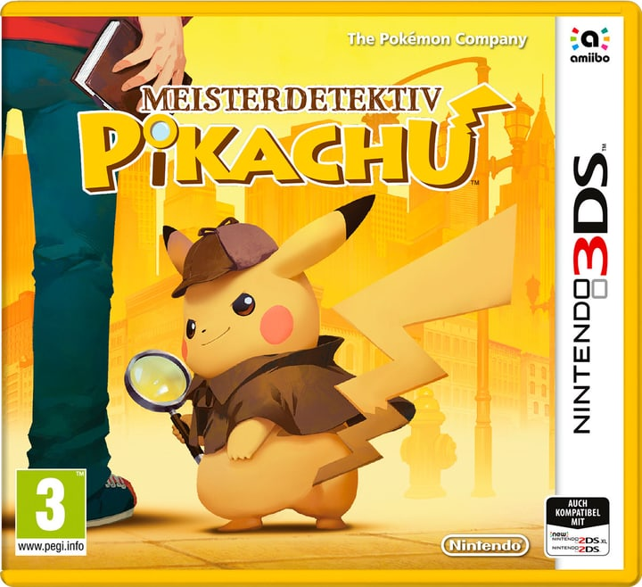3DS - Meisterdetektiv Pikachu (D) Physique (Box) 785300132202 Photo no. 1