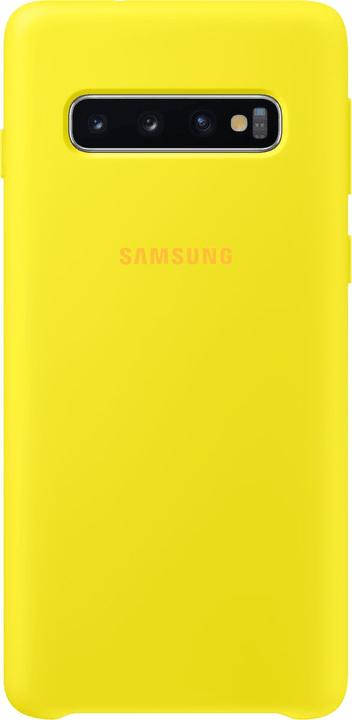 Silicone Cover Yellow Custodia Samsung 785300142445 N. figura 1