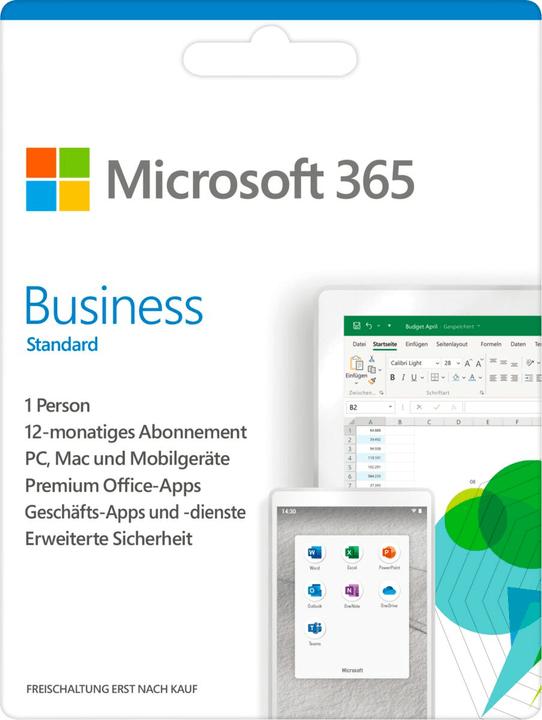 365 Business Standard ESD Digital (ESD) Microsoft 785300139372 Photo no. 1