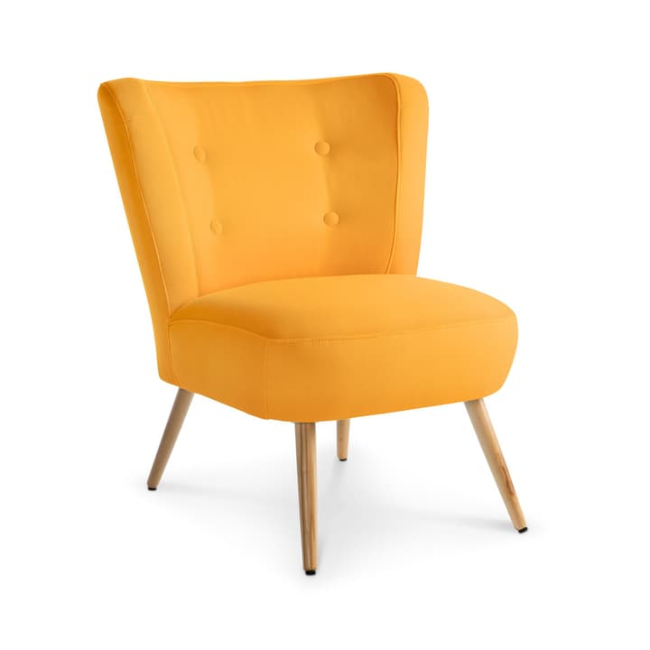 NEELE II Sessel 360039588404 Grösse B: 72.0 cm x T: 67.0 cm x H: 80.0 cm Farbe Gelb Bild Nr. 1