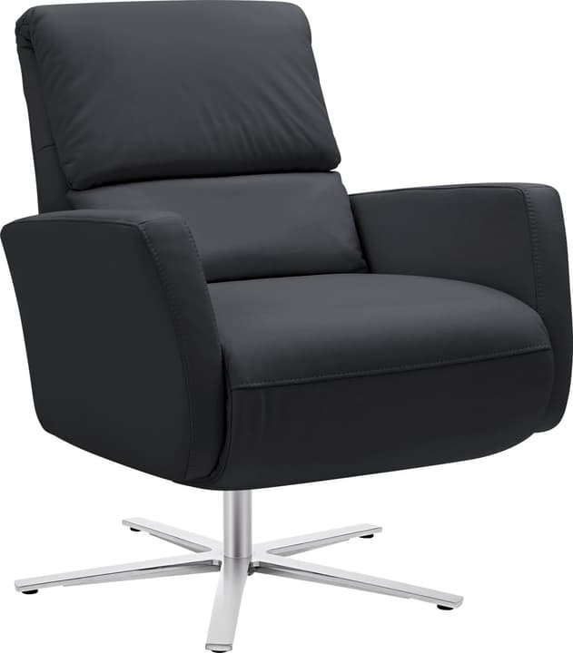 ARTHUR Relaxsessel 402476507020 Grösse B: 74.0 cm x T: 95.0 cm x H: 84.0 cm Farbe Schwarz Bild Nr. 1