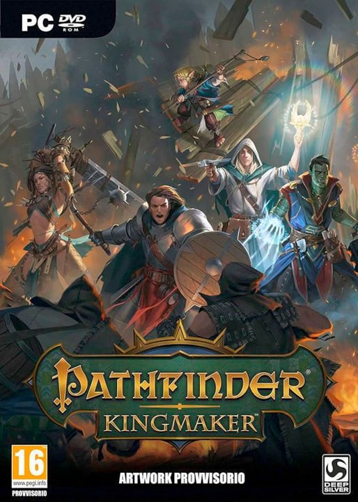 PC - Pathfinder: Kingmaker (I) Box 785300137865 Photo no. 1