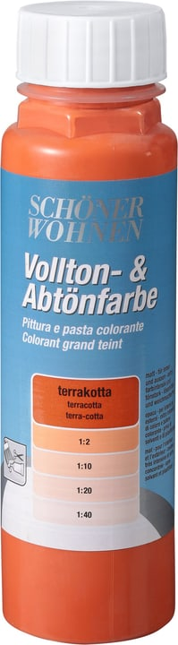 Pittura pien e per digradazione Terracotta 250 ml Schöner Wohnen 660900500000 Colore Terracotta Contenuto 250.0 ml N. figura 1