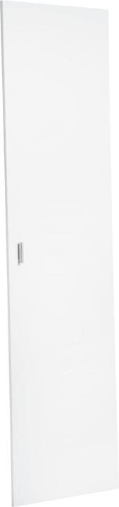 SAX Porte simple haute, pour l'étagère étroite 407552100000 Dimensions L: 51.0 cm x P: 2.0 cm x H: 192.0 cm Couleur Blanc Photo no. 1