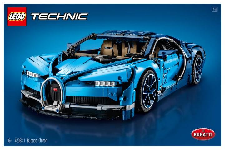 Lego Technic Bugatti Chiron 42083 744555400000 N. figura 1