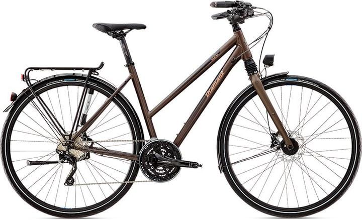 """Elan Super Legere 28"""" pour femme Vélo de trekking Diamant 490179504573 Couleur brun foncé Tailles du cadre 45 Photo no. 1"""