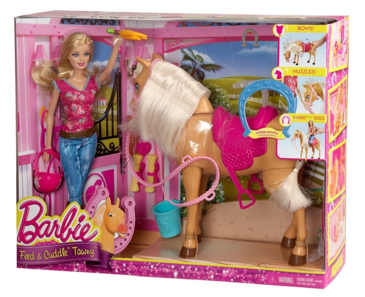 W14 BARBIE FUTTER UND SCHMUSESPASS TAWNY Barbie 74792040000014 Bild Nr. 1