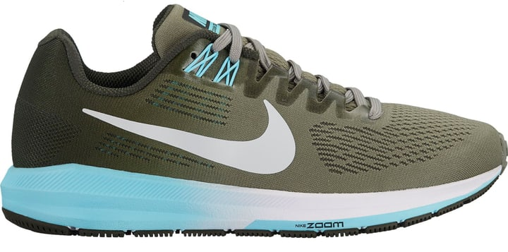 Air Zoom Structure 21 Chaussures de course pour femme Nike 463212239063 Couleur vert foncé Taille 39 Photo no. 1