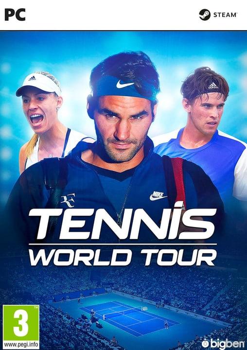 PC - Tennis World Tour (D/F) Fisico (Box) 785300132955 Lingua Francese, Tedesco Piattaforma PC N. figura 1