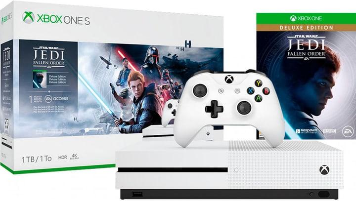 Xbox One S 1TB – Star Wars Jedi: Fallen Order Bundle Microsoft 785300147534 Photo no. 1