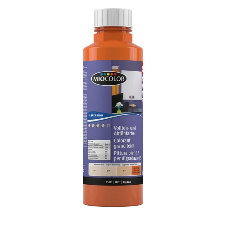 Vollton- und Abtönfarbe Miocolor 660732300000 Farbe Gelborange Inhalt 500.0 ml Bild Nr. 1