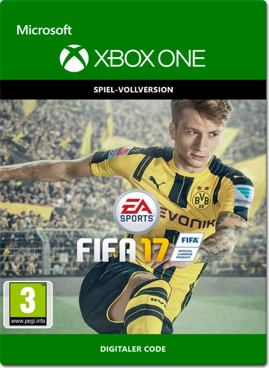 Xbox One - Fifa 17 Download (ESD) 785300137367 N. figura 1