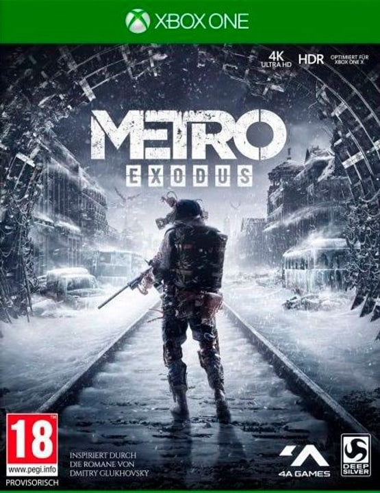 Xbox One - Metro Exodus D1 F Box 785300139680 N. figura 1