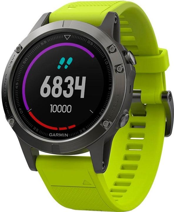 GPS Fenix 5 - grigio/giallo Smartwatch Garmin 785300132749 N. figura 1
