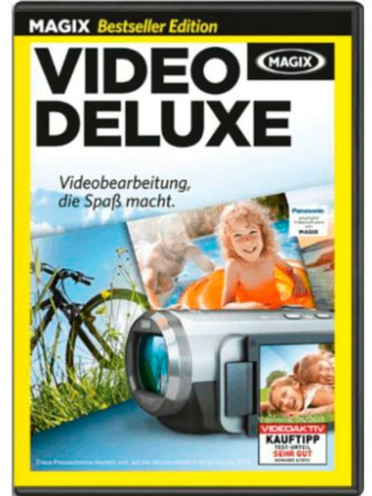 PC - Video Deluxe (D) Physique (Box) Magix 785300122172 Photo no. 1