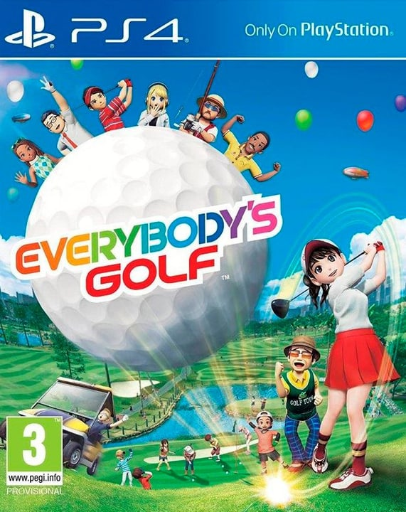 PS4 - Everybody's Golf 7 Box 785300122429 Photo no. 1